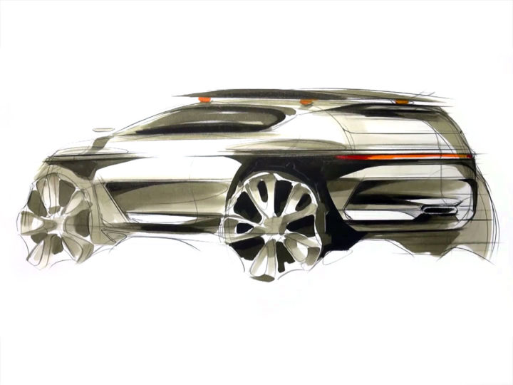 SUV Design Sketch Demo - Car Body Design