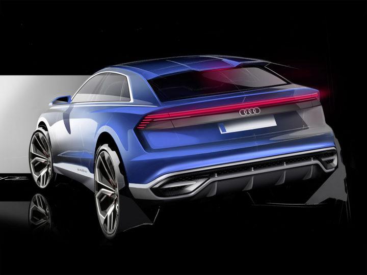 Audi Q8 Concept Car Body Design