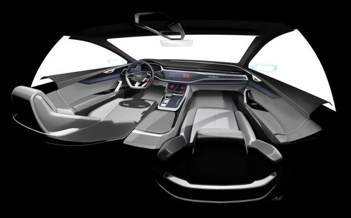 audi q8 concept car body design. Black Bedroom Furniture Sets. Home Design Ideas