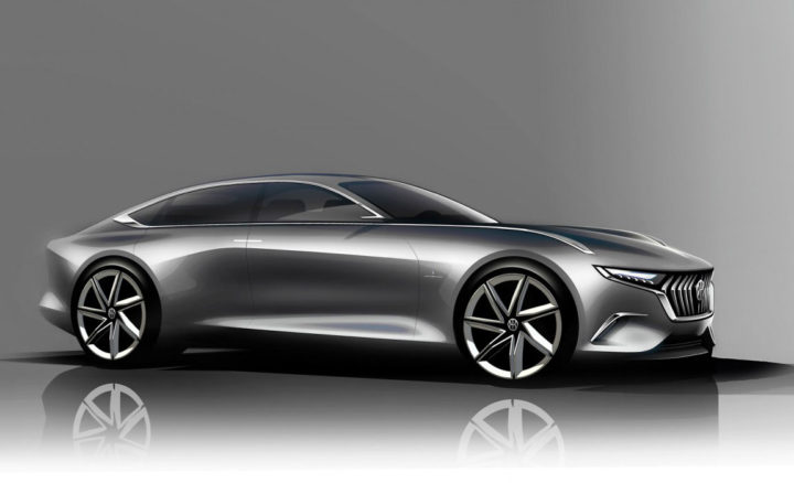 Pininfarina H600 Design Sketch Render