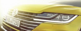 Volkswagen Arteon render   Headlight detail