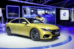 Volkswagen Arteon at the 2017 Geneva Show