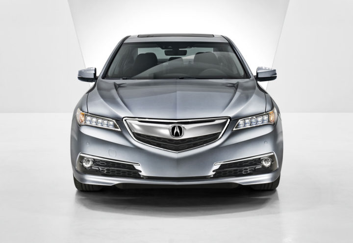 2016 Acura TLX front end