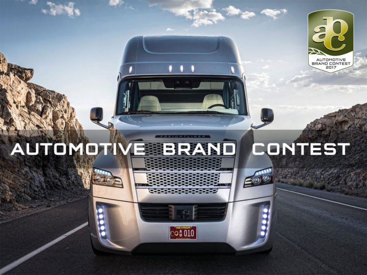 Concentrated branding power: Automotive Brand Contest 2017