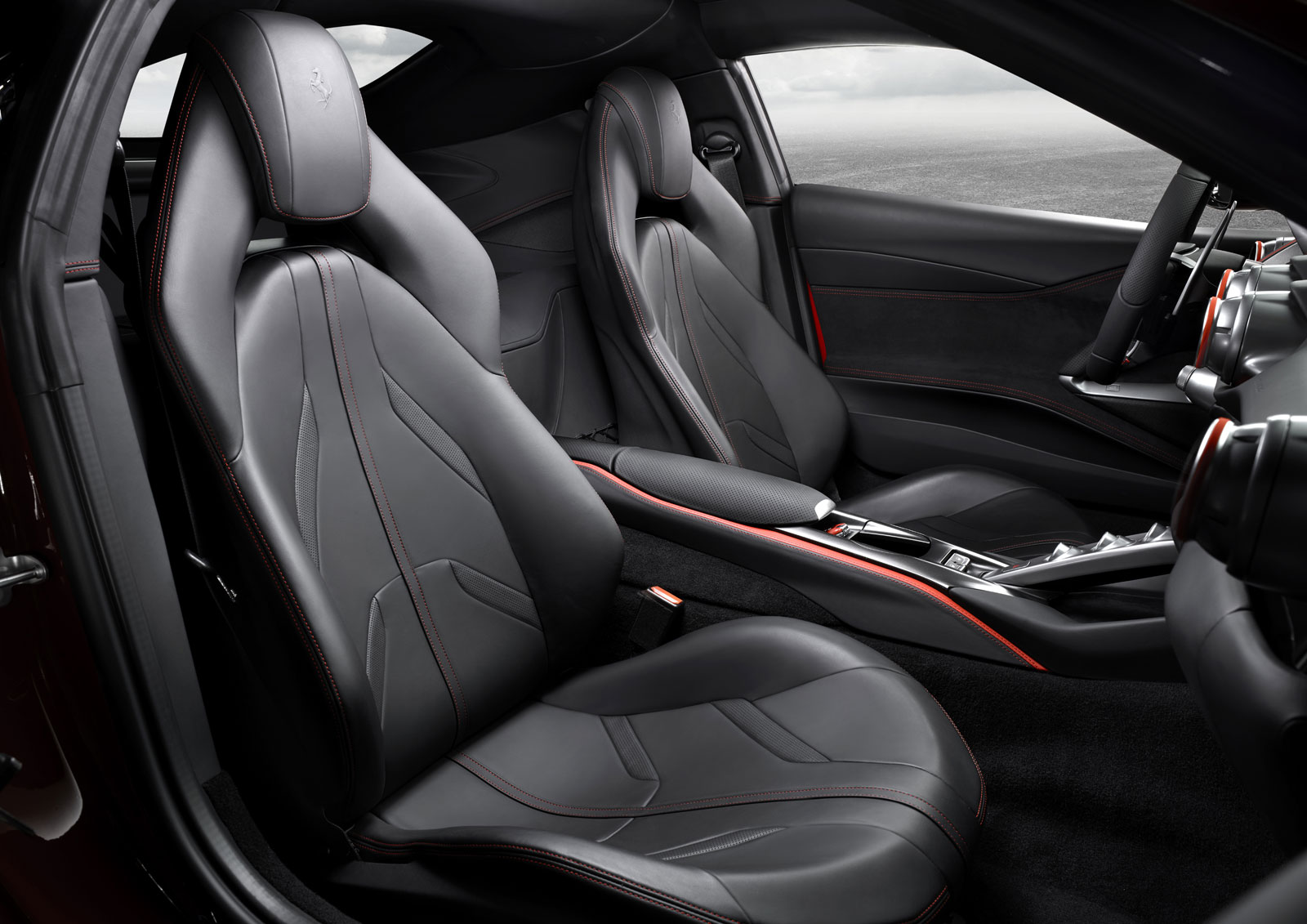 Ferrari 812 Superfast Interior Car Body Design