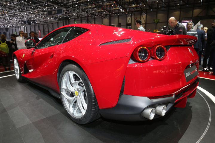 Ferrari 812 Superfast at the 2017 Geneva Show