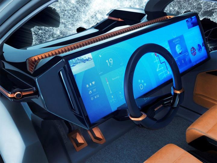Honda NeuV Concept - Car Body Design