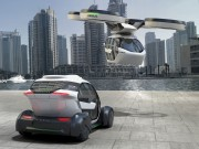 Italdesign and Airbus envision Pop.Up ground-air hybrid concept vehicle