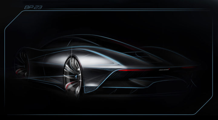 McLaren BP23 Concept Design Sketch