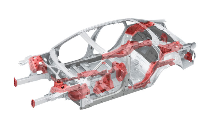 New Audi A8 Space Frame Aluminum castings
