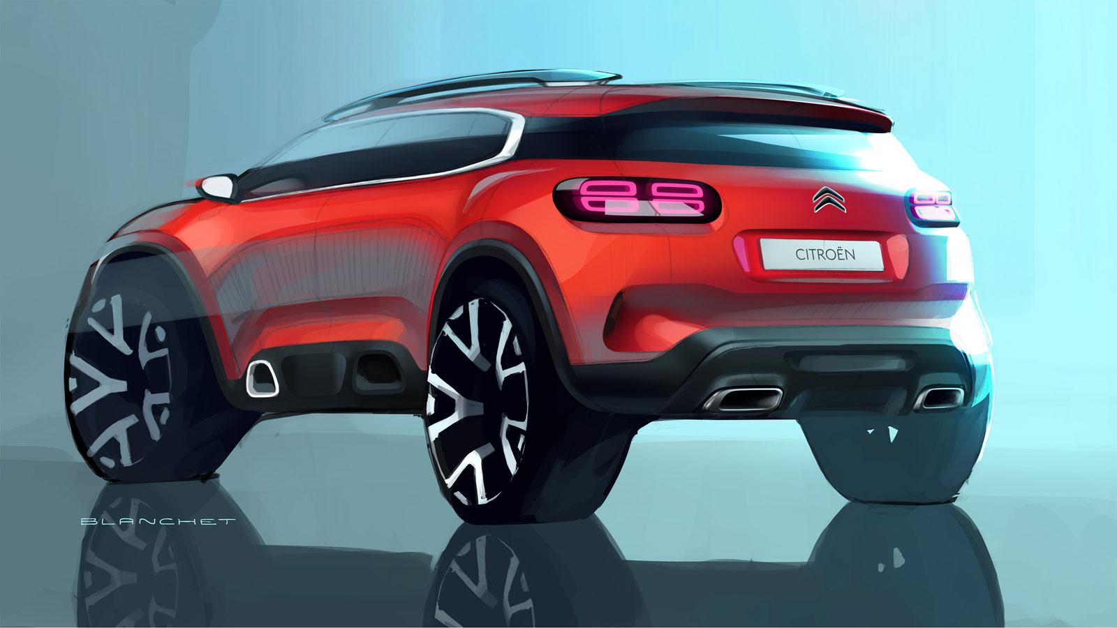 new citro n c5 aircross the design car body design. Black Bedroom Furniture Sets. Home Design Ideas