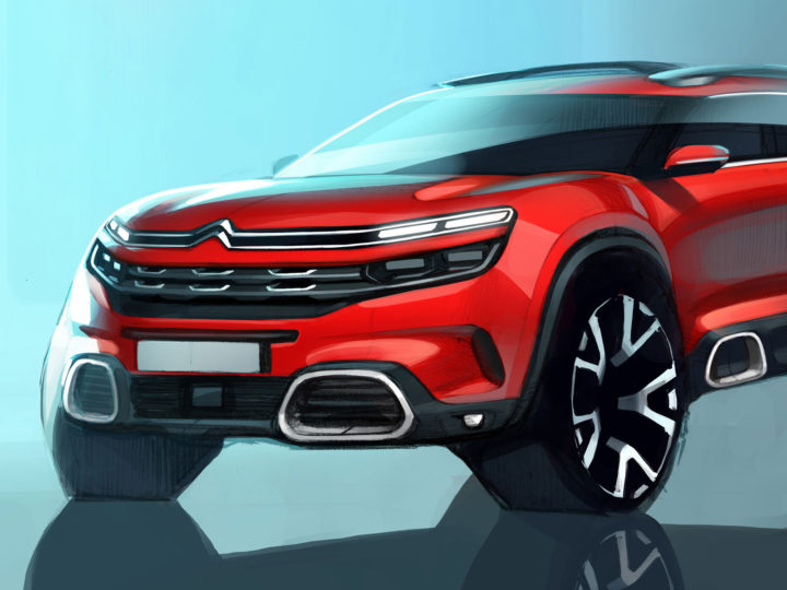 New Citroën C5 Aircross: the design