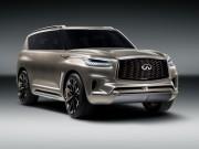 Infiniti teases QX80 Monograph luxury SUV