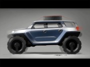 SUV design sketching demo