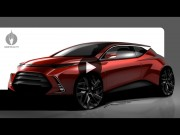 Car studio render Photoshop demo