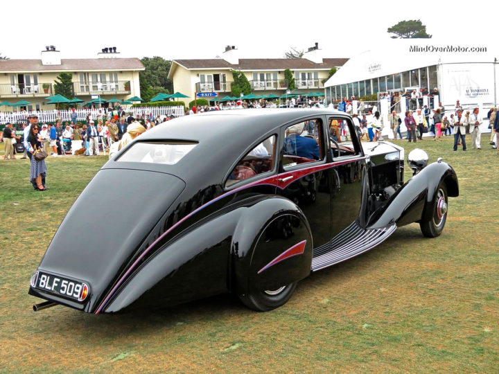 1934 Phantom II Streamline Saloon by Park Ward