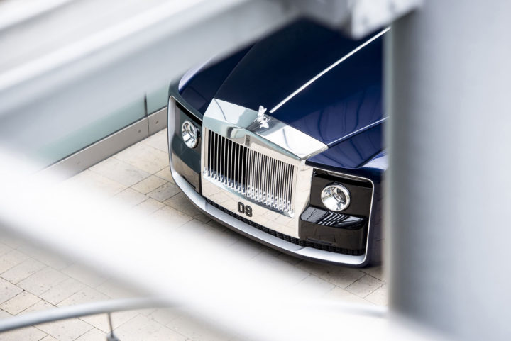 Rolls-Royce Sweptail Front end