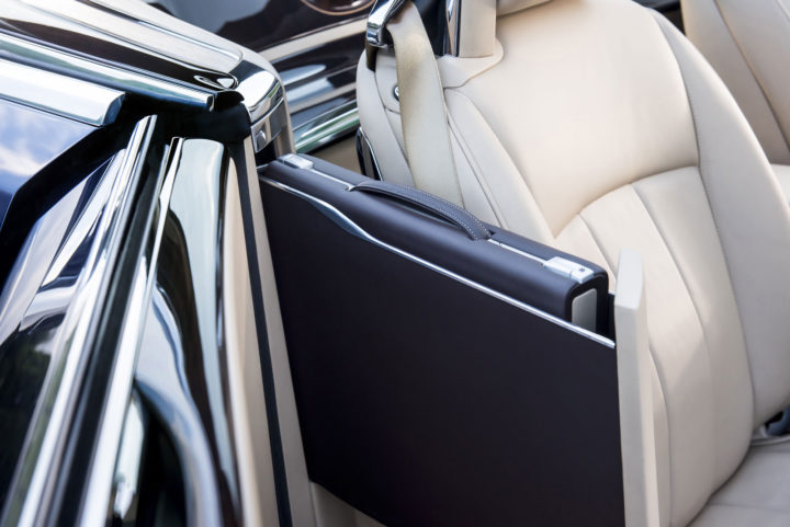 Rolls-Royce Sweptail Interior Hidden briefcase