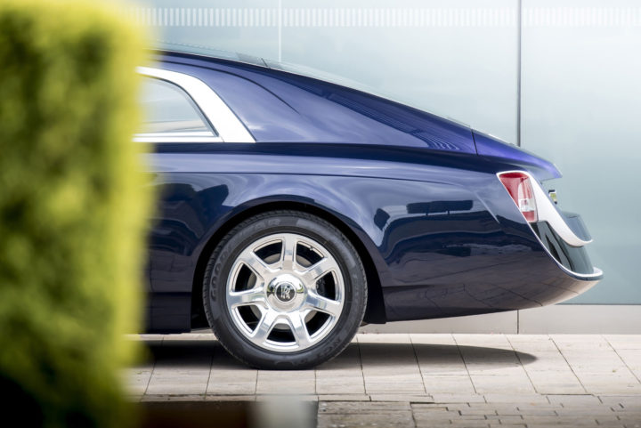 Rolls-Royce Sweptail Rear end