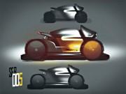 Concept Bike Photoshop Speedpainting Video