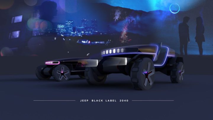 Jeep Black Label by Xingyu Yang Design Render