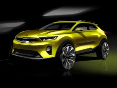 Kia previews Stonic B-segment crossover