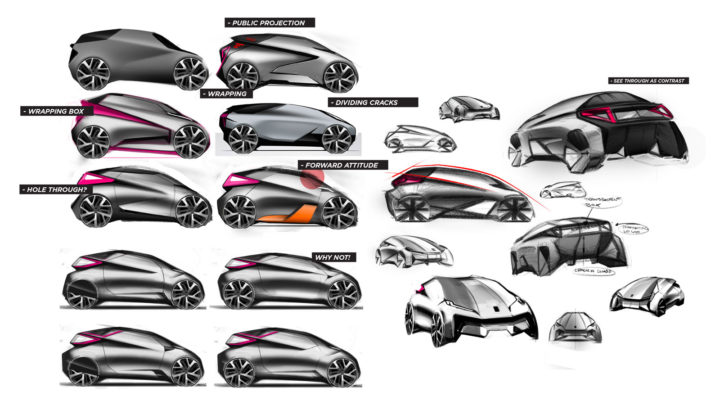 Lynk Co Rebyell Concept by Adam Hagg Design Sketches
