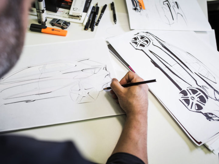 New Seat Ibiza Design Process design sketching