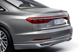 Audi A8 Rear End and Tail Lights