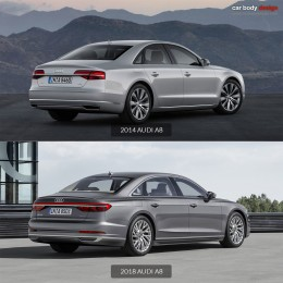 2014 vs 2018 Audi A8 Design Comparison