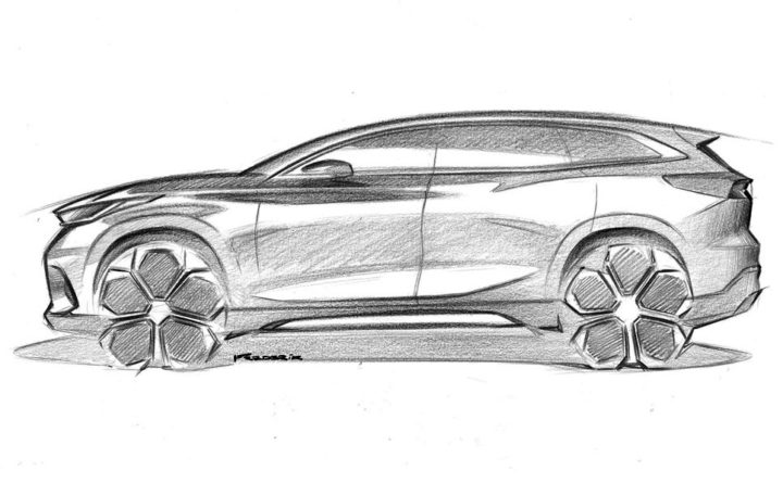 Chery Previews Design Direction With Global SUV Sketches - Car Body Design