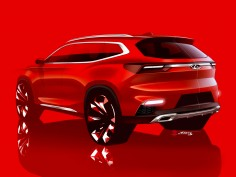 Chery previews design direction with global SUV sketches
