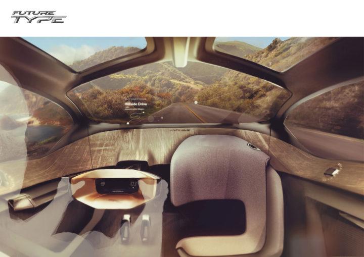 future type concept envisions the jaguar of 2040 car body design. Black Bedroom Furniture Sets. Home Design Ideas