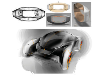 Jaguar Future-Type and Sayer steering wheel: design gallery