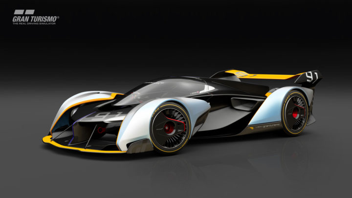 McLaren Ultimate Vision GT Concept Design Sketch Render
