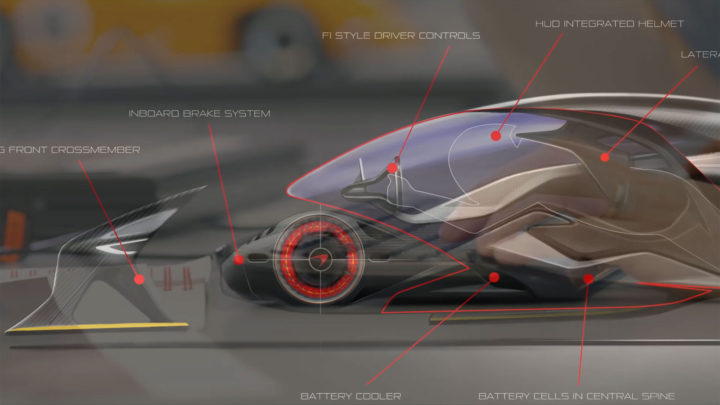 McLaren Ultimate Vision Gran Turismo Packaging and driving position