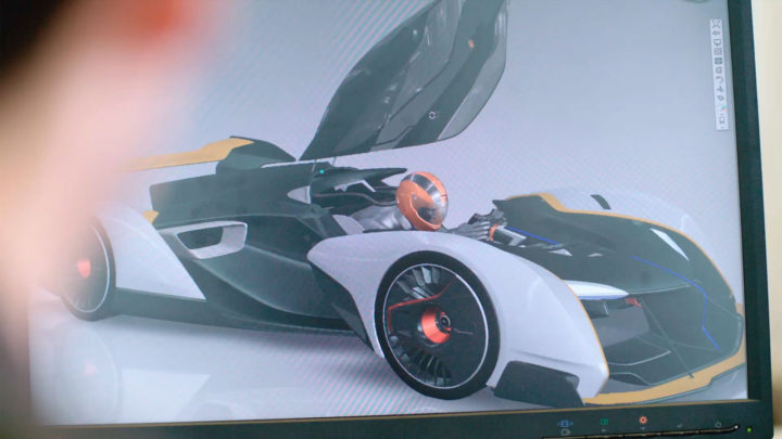 McLaren Ultimate Vision Gran Turismo Render Screenshot