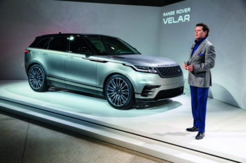 Interview: Land Rover's design boss on the Range Rover Velar and brand's growth