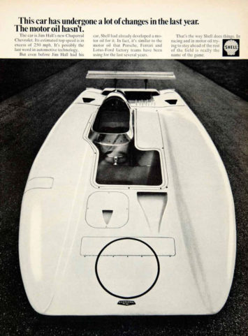Ed Welburn's Chaparral Experience