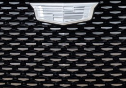 Cadillac Escala Concept Front Grille Detail
