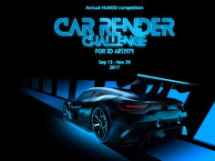 Hum3D launches annual Car Render Challenge