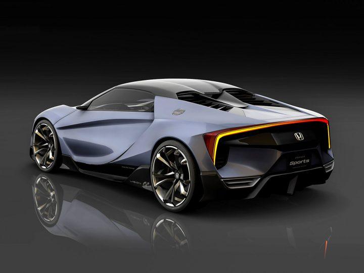 Honda sports vision gran turismo concept car body design for Future honda cars