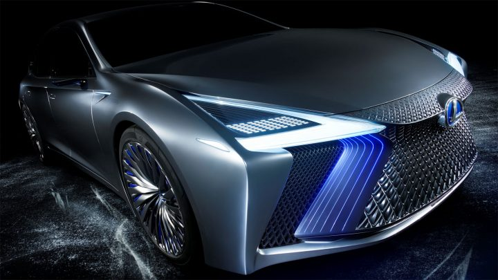 Lexus LS Concept Headlight design