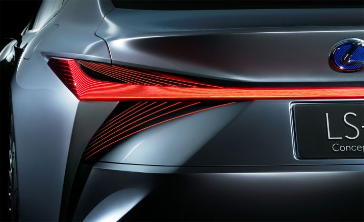Lexus LS Concept Tail Light design