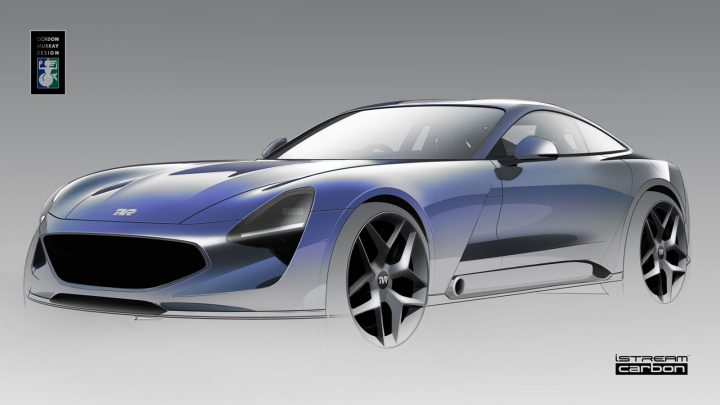 TVR Design Sketch Render