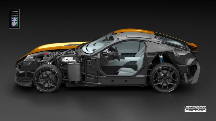 TVR uses Gordon Murray Design iStream technology