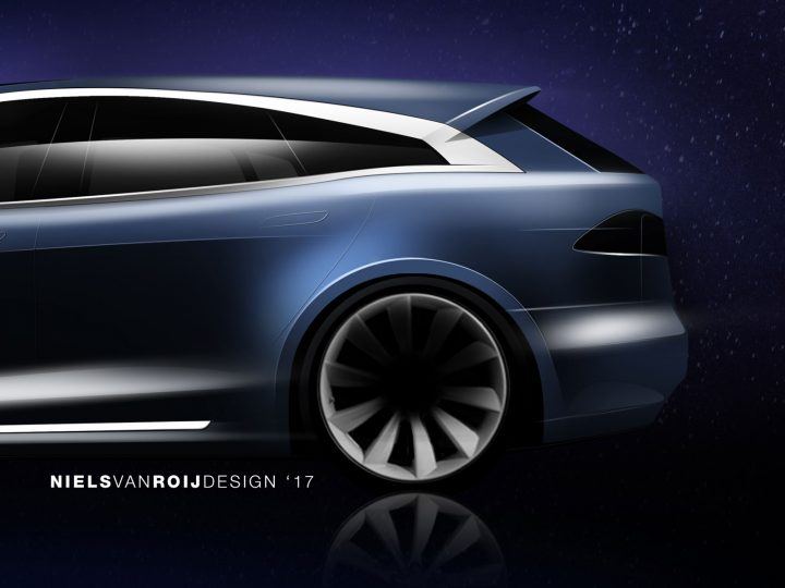 Dutch coachbuilder developing a Tesla Model S Shooting Brake