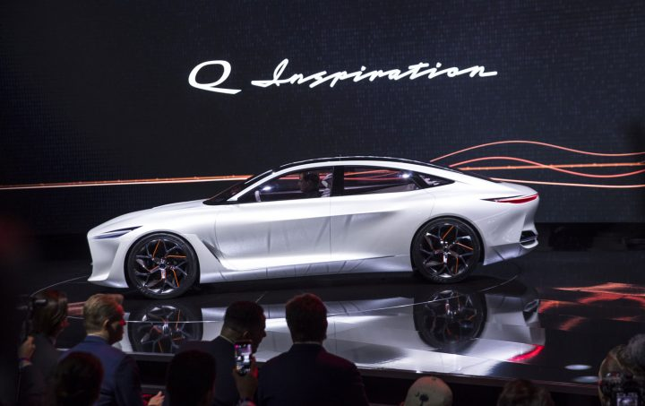 Infiniti Q Inspiration Concept at the 2018 Detroit Show