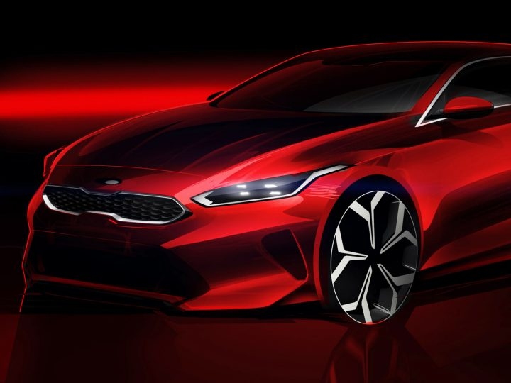 Kia teases all-new Ceed with design sketch