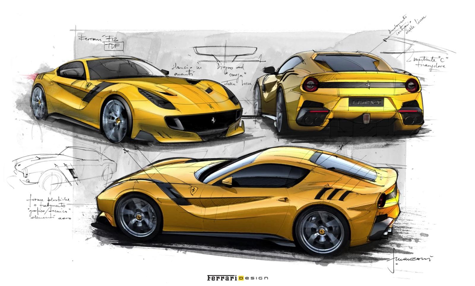 Ferrari's firebrand | Luxury car design | Speed date ... |Ferrari Design Sketches